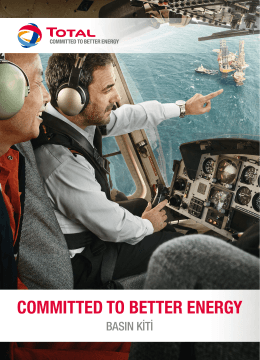 commıtted to better energy - Total Corporate Campaign Kit