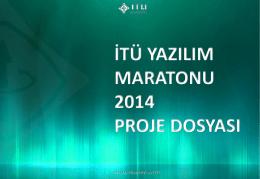 PowerPoint Sunusu - İTÜ Yazılım Maratonu 2014