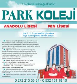 ANADOLU LİSESİ FEN LİSESİ