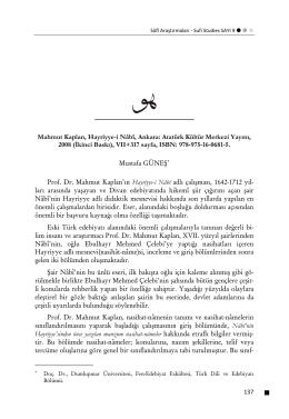 Atatürk Kültür Merkezi Yayını, 2008 (İkinci Baskı)
