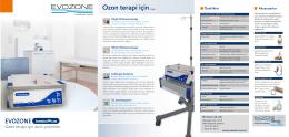 Ozon terapi için