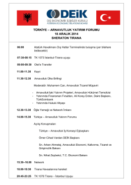 Taslak Program
