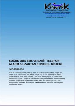 Tipik Bir GSM Paket Sistem Kullanim Brosürü
