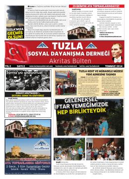 2. Sayı (Temmuz 2014) - Tuzla Sosyal Dayanışma Derneği