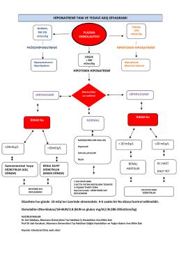 Hiponatremi Tanı ve Tedavi Akış Diyagramı