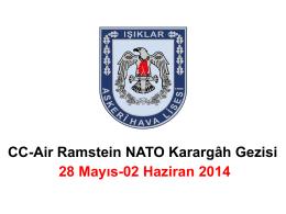 Almanya CC-Air Ramstein NATO Karargâhı Gezisi