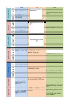 1. sınıf 2.sınıf 3. sınıf 09:00 10:00 anatomi teorik anfi 2 11:00 12:30