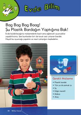 Bag Bag Bag Baag! Şu Plastik Bardağın Yaptığına Bak!