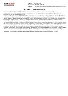 Şap Aşi Kampanyasi_internet haber_24.03.2014