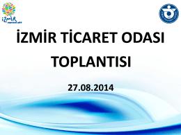 Slayt 1 - İzmir Ticaret Odası