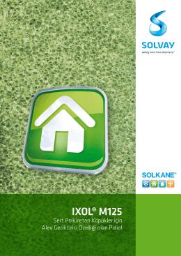 IXOL M125 - Solvay Chemicals