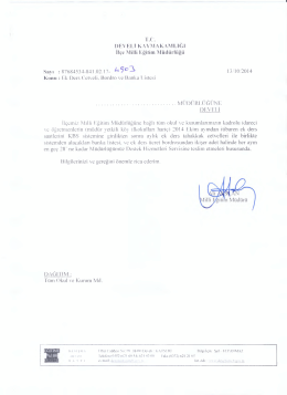 ekdres iş ve işlemleri - kayseri - develi ilçe millî eğitim müdürlüğü