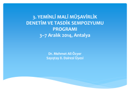Mehmet Ali ÖZYER