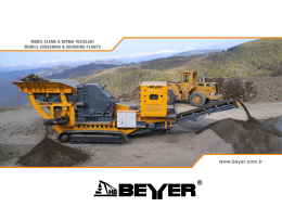 BM 2512-R - Beyer Makina