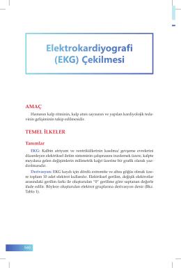 (EKG) Çekilmesi - İzmir Güney Kamu Hastaneleri Birliği Genel