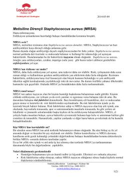 MRSA - Landstinget i Kalmar län