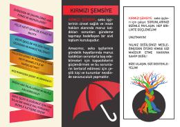 KIRMIZI ŞEMSİYE - Kırmızı Şemsiye