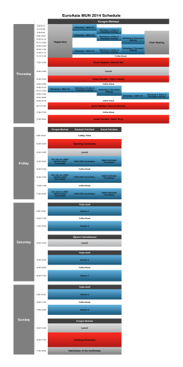 EuroAsia MUN Schedule 2.numbers