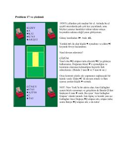 Problem 17 ve çözümü