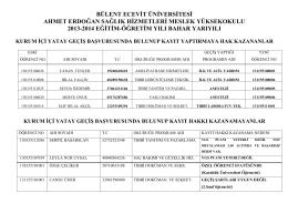Ahmet Erdoğan Sağlık Hizmetleri Meslek Yüksekokulu