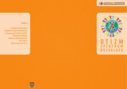 Otizm Spektrum Bozukluğu Broşür - Engelliler Araştırma Enstitüsü