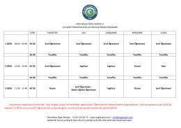 1 Sınıflar Oryantasyon - Özel Milas Özge Okulları