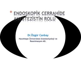 Dr.Özgür Canbay - uludaganestezi.org