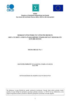 orta ve doğu avrupa ülkelerġnde yüksek devlet memurluğu ġçġn bġr