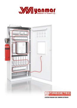 FireDETEC application brochure - Electrical cabinets
