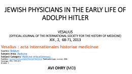 28.Mart.2014 - Hacettepe Üniversitesi Tıp Fakültesi Tıp Tarihi ve Etik