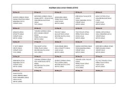 haziran 2014 aylık yemek listesi