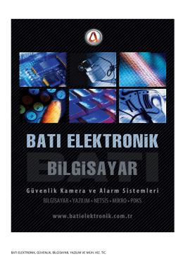 batı elektronık tanıtım dosyası