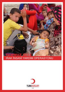 TEMMUZ 2014 - Türk Kızılayı