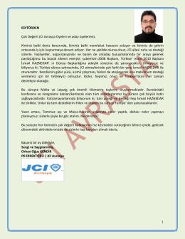 2014 Mayıs-Hazi - JCI Avrasya Şubesi