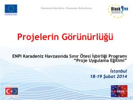 4-Görünürlük Sunumu - Avrupa Birliği Bakanlığı
