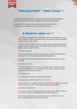Kullanma Klavuzu E-book(Yarışma 1.si)