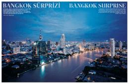 Bangkok SurpriSe BANGKOK SÜRPRİZİ