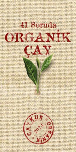 Organik Çay Broşürü - 2014