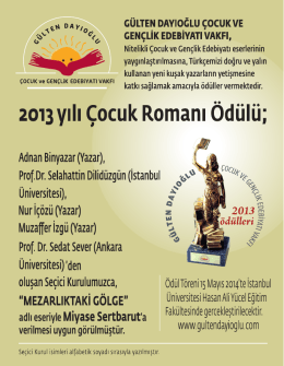 """Nur İçözü (Yazar) Muza er İzgü (Yazar) """"MEZARLIKTAKİ GÖLGE"""