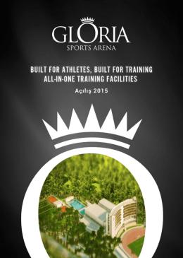 broşürü indirin - Gloria Sports Arena