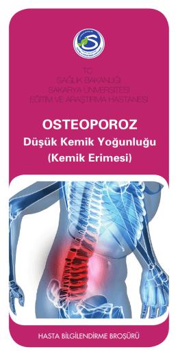 Osteoporoz (Kemik Erimesi) - Sakarya Eğitim ve Araştırma Hastanesi