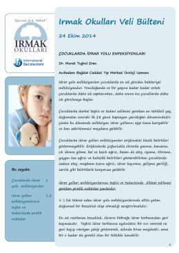 Anaokulu Sağlık Bülteni-1