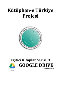 google drive - Kütüphan