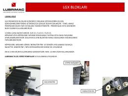 LUBRIMAC LGX Progresiv Blok