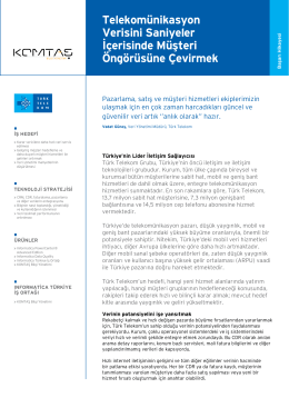 TürkTelekom Case Study (pdf)