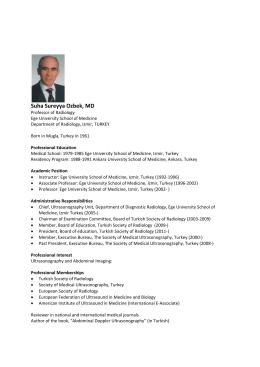 Prof. Dr. Süreyya Özbek