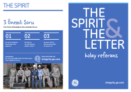 kolay referans - GE Sustainability
