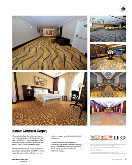 Samur Contract Carpet