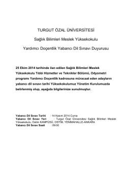 YABANCI_DIL_SINAV_DUYURUSU PDF Dosyası Dosya Boyutu