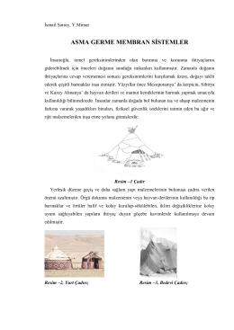 ASMA GERME MEMBRAN SİSTEMLER